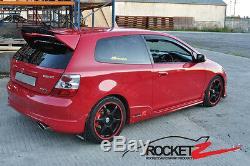 02-05 Honda Civic EP3 Mugen Style Hatchback Roof Wing Spoiler Made for USDM USA
