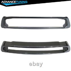 06-11 Civic Mugen Trunk Spoiler OE Painted Color #NH737M Polished Metal Metallic