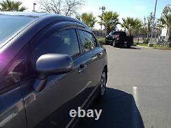 06-11 Honda CIVIC 4dr LX Sedan Mugen Side Window Visor Rain Guard Visors Clip On