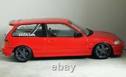 118 Custom (EF9) HONDA CIVIC SiR DOHC VTEC MUGEN Racing Hart MODIFIED TUNING
