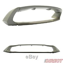 12-15 Honda Civic Sedan Rr Mug Style 4Pc Trunk Wing Spoiler