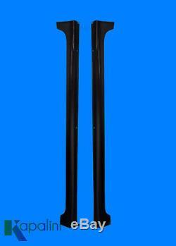 12-15-Honda-Civic Side-Skirts Rocker Panels 4Dr Mugen Rr Style 2Pcs WithHrdwr