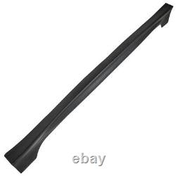 2 Pack Side Skirts Rr Style For Honda Civic 4dr Dx Ex Si 2006-11 Unpainted Black