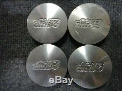 4 Honda Civic CRX EF8 EF9 Mugen Wheel Rim Center Caps Rare JDM OEM spoon mr5 m2