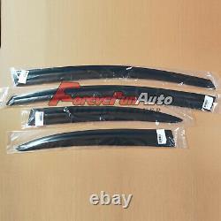 4PCS Window Visors Sun Rain Guard Vent for 2006-2011 Honda Civic Mugen Style