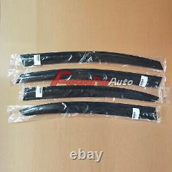 4PCS Window Visors Sun Rain Guard Vent for 2012-15 13 14 Honda Civic Mugen Style