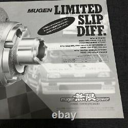 84-87 Honda Civic Mugen LSD Brochure Catalog JDM Rare Si 1G CR-X 85 86 83 3G