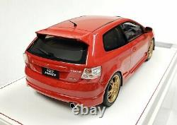 AMC 1/18 Honda Civic Type R EP3 2004 Mugen Limited Edition