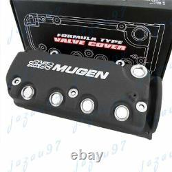 BK MUGEN Racing Rocker Engine Valve Cover For Honda Civic D16Y8 D16Y7 VTEC SOHC