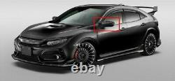 Black Carbon Mirror Cap Cover For Mugen Honda Civic Type-R FK8 2016-2020 2018