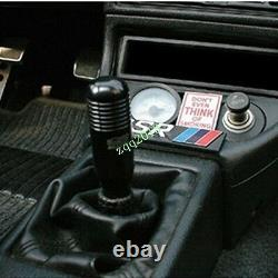 Black MT Manual Transmission Stick shifter 5 6 Speed Short Shift Knob For Honda