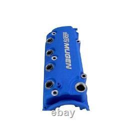 Blue Mugen Styl Racing Engine Valve Cover For Honda Civic D16 VTEC D16Y8 D16Z6