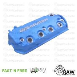 Blue Mugen Style Valve Rocker Engine Cover for Honda Civic D16 VTEC D16Y8 D16Z6