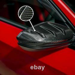 Carbon Fiber Mirror Caps For Mugen Honda Civic Type-R FK8 2016 2017 2018-2020