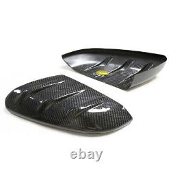 Dry Carbon Door Mirror Cover For Mugen Honda Civic Type-R FK8