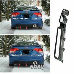 Dry Carbon Fiber Mugen Rear Bumper Diffuser Lip Spoiler Refit For Honda Civic SI