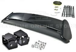 EJ6 Type-R CTR Rear Roof Wing Spoiler With BLACK Alex Tilt Bracket For 96-00 Civic