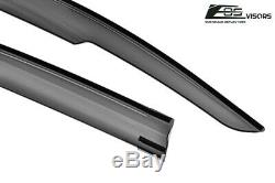 EOS Visors For 12-15 Honda Civic Sedan JDM Mugen II Style Side Window Deflectors