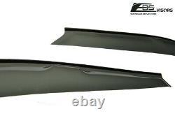 EOS Visors For 92-95 Honda Civic Sedan Tap On Side Window Visors Deflectors