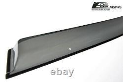 EOS Visors For 96-00 Civic Hatchback JDM CLIP-ON Side Vent Window Rain Deflector