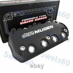 Engine Valve Cover BK MUGEN Racing Rocker For Honda Civic D16Y8 D16Y7 VTEC SOHC