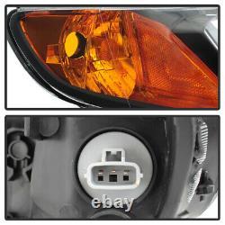 FACTORY STYLE For 06-11 Honda Civic 4DOOR Left+Right Black Headlight Assembly