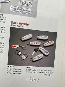 FEELS Honda Twin Cam 90s Key Chain Rare Mugen Spoon Civic Typs R Integra Dc2 EK9