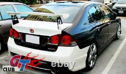 FOR HONDA CIVIC 8th FD SERIES REAR TRUNK WING SPOILER MUGEN GT STYLE UNPAINTED