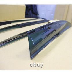 FOR Honda Civic 8th Mugen Window Side Rain Visor + Window Louver Visor Cover NEW