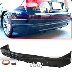 Fit 06-08 Civic 4 Dr Sedan Mugen Style PU Rear Bumper Lip Spoiler Body Kit