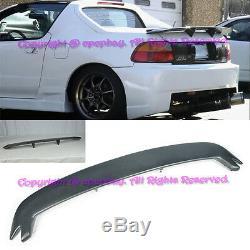Fit 93-97 Honda Civic Del Sol Mugen Style FRP Rear Spoiler Wing Body Kit EG2 EG1
