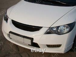 Fit For Honda Civic 4 Door 2009-2012 Front Grille Mugen Style