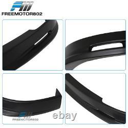 Fits 01-03 Honda Civic 2 4 Dr Mugen Style Front Bumper Lip Spoiler Bodykit PP