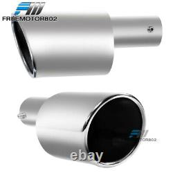 Fits 06-11 Civic Mugen Rear Bumper Diffuser + Smoke Brake Light + Muffler Tip