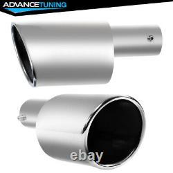 Fits 06-11 Civic Mugen Rear Bumper Lip Smoke LED 3RD Brake Light +Muffler Tip