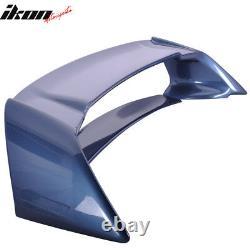 Fits 06-11 Civic Sedan Mugen Trunk Spoiler Painted Atomic Blue Metallic #B537M