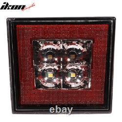 Fits 06-11 Civic Sedan Rear Bumper Spoiler + LED 3RD Brake Light + Muffler Tip