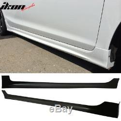 Fits 06-11 Honda Civic 2Dr Mugen Sideskirts Side Skirts Pair Left Right Side PU