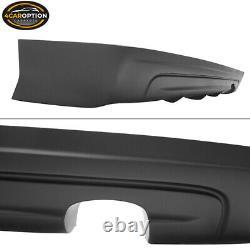Fits 06-11 Honda Civic 4Dr Mugen Type Rear Bumper Lip Spoiler Kit PU