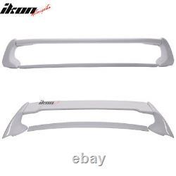 Fits 06-11 Honda Civic 4Dr Mugen trunk Spoiler Painted NH578 Taffeta White