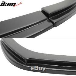 Fits 06-11 Honda Civic 4Dr Sedan Mugen RR USDM Front Bumper Lip Spoiler ABS