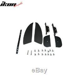 Fits 06-11 Honda Civic 4Dr Sedan Mugen Rear Trunk Spoiler ABS Wing Matte Black