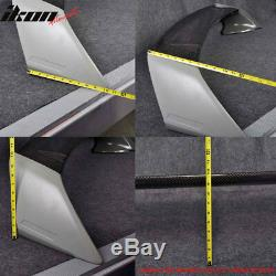Fits 06-11 Honda Civic 4Dr Trunk Spoiler Wing Mugen RR Carbon Fiber