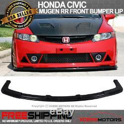 Fits 06-11 Honda Civic Mugen RR Front Bumper Lip Spoiler