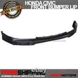 Fits 09-11 Honda Civic 2Dr Coupe Mugen Front Bumper Lip Spoiler