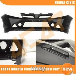 Fits 12-14 Honda Civic Sedan 4Dr Mugen Style Front Bumper Conversion USDM Only