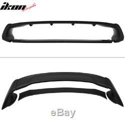 Fits 12-15 Honda Civic 4Dr Sedan Mugen Style Trunk Spoiler ABS