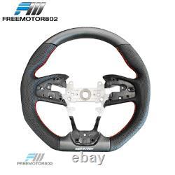Fits 17-20 Honda Civic 10th Gen Type R Mugen Steering Wheel Carbon Fiber