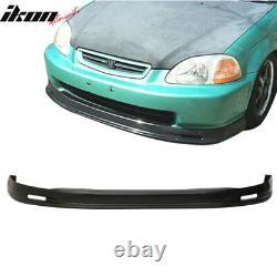 Fits 96-98 Honda Civic 2Dr/4Dr Mugen Front + Rear Bumper Lip
