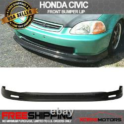 Fits 96-98 Honda Civic 3Dr PP Front Bumper Lip Spoiler + Sun Window Visor